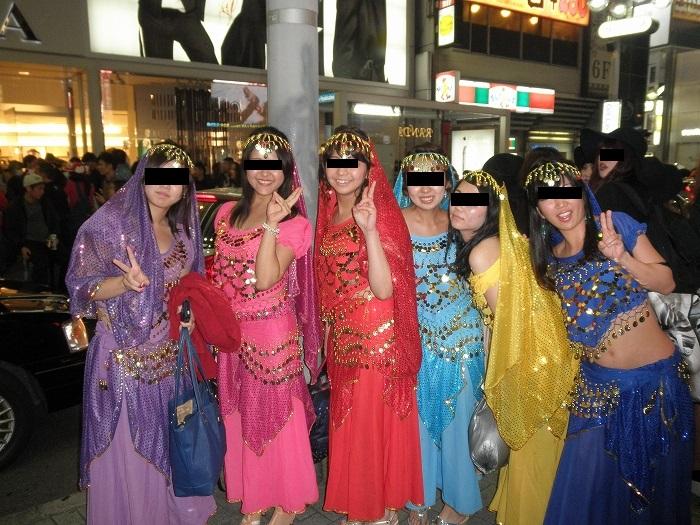 アラビアン衣装