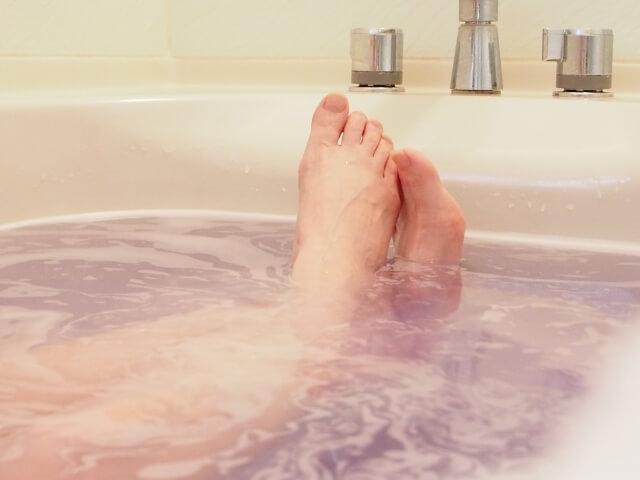 お風呂で深部体温を上げる